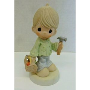 Precious Moments Our Love is Built  Figurine